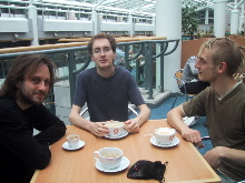 Steve, Charles, and Chris Caffeinated